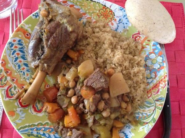 Couscous péruvien et quinoa