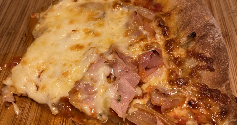 Pizza napolitaine à croute mince
